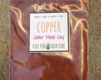copper metal clay powder ecofriendly art supplies