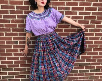 Mayan Goddess Skirt Size M