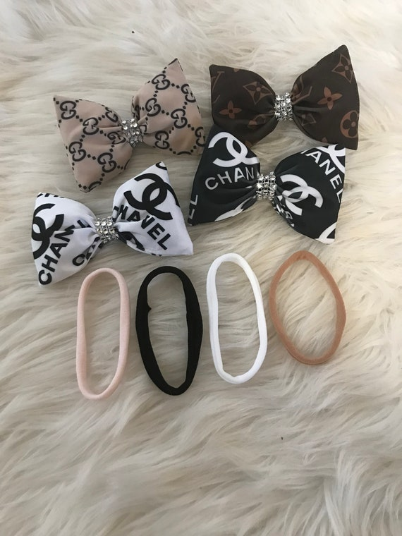 Spoiled Rotten Diva Package , Comes with all 4 designer bows and 4 interchangable headbands