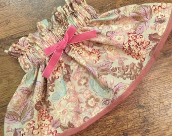 Sweet breeze floral skirt set