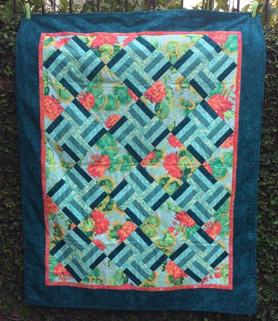 Lovely Lattice Quilt Pattern Pdf Instant Download