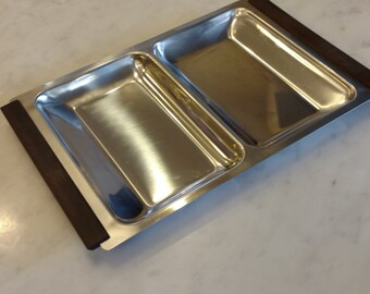 Nord Steel Danish Modern Serving Tray
