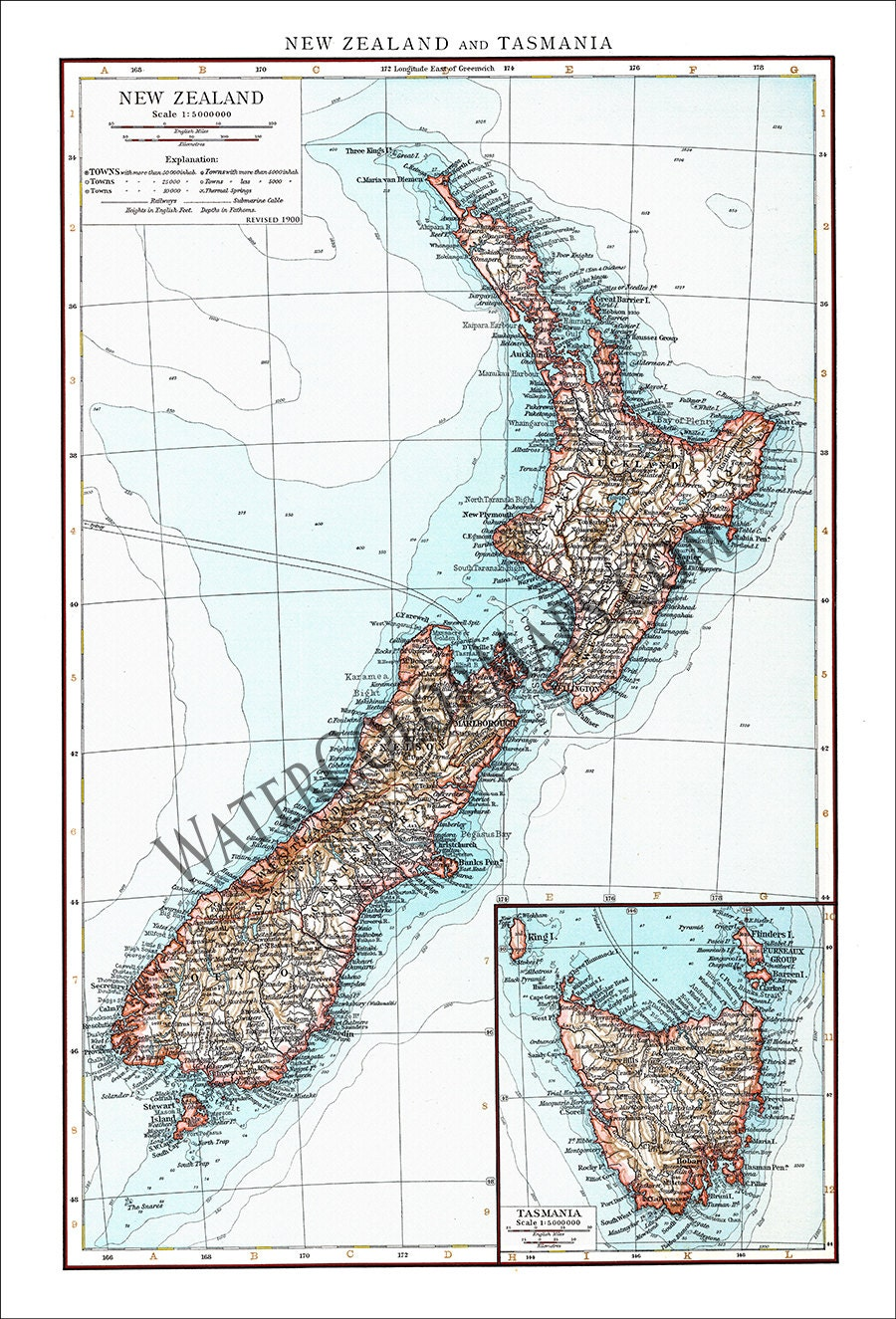 new zealand map new zealand auckland map of new zealand australia map vintage map antique map world map maps of the world