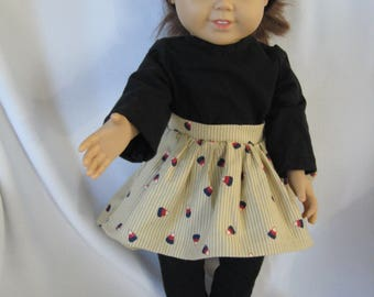 """Fall outfit for 18"""" Doll"""