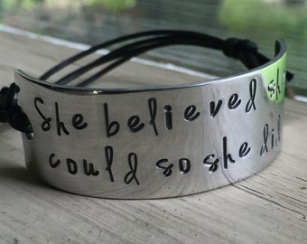 Silver Cuff Bracelet For Women - Silver - Cuff Bracelet - Quote