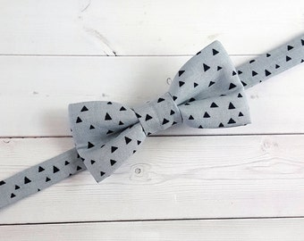 Toddler Bow Tie, Baby Bow Tie, Mens Bow Tie, Bow Tie, Grey Bow Tie, Suit Tie, Boys Bow Tie, Wedding Bow Tie, Bowtie, Ring Bearer Bow Tie