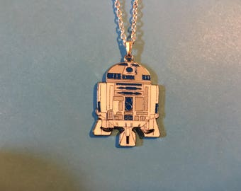 R2D2 Star Wars Necklace  S4