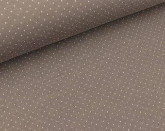 Jacquard jersey Mini Dots Griglio Londra-weiß (21.80 EUR/meter)