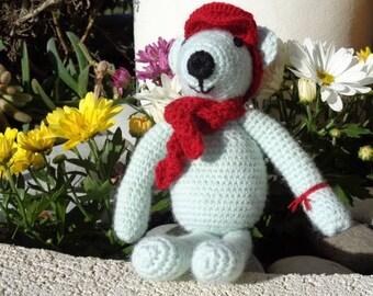 Cuddly soft bear Martin