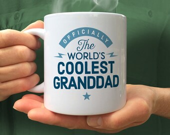 Grandad Gift, Cool Grandad, Grandad Mug, Birthday Gift For Grandad! Grandad, Grandad Present, Grandad, Gift For Grandad! Awesome Grandad