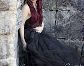 Black Tulle Skirt  Adult ...