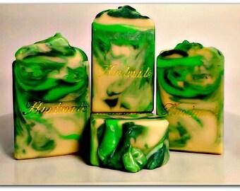 Lemony Snicket Soap Handmade Soap Cocoa Butter & Coconut Milk Soap Bar Gift Soap