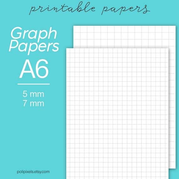 A Graph Paper Printable Graph Paper Digital Planner