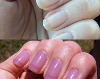 MORA solar reactive sheer 5-free nail polish