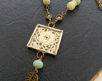 A Touch of Romance Amazonite Necklace
