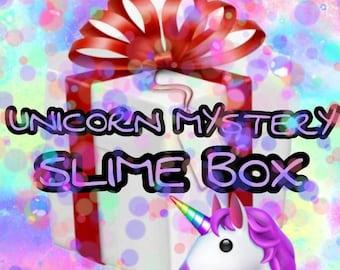 Unicorn Mystery Slime Box!