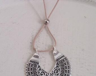 Silver necklace, handmade jewelry, love it, Valentine's day, minimalist design, cute jewels