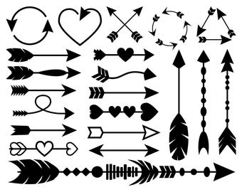 21 Arrow SVG files, Arrow Clipart, Arrow DXF, Arrow PDF, Arrow Printable, Arrow Svg Files for Cricut, Arrow Svg bundle, Arrows Svg Clip Art