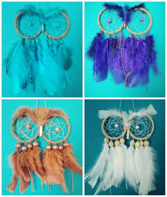 Owl Totem Animal Dream Catcher Native American Dreamcatcher
