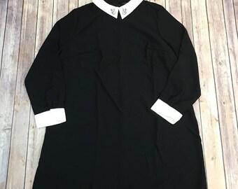collar dress plus size 3xl