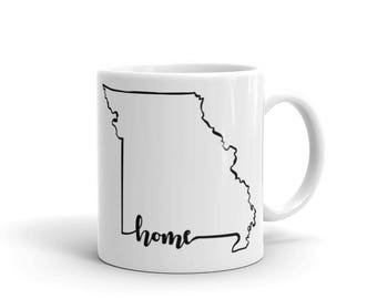 Missouri Home State - Coffee Mug