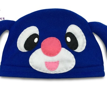 Pokemon Starter Hat - Popplio - Pokemon Fleece Hat - Super Cozy Beanie