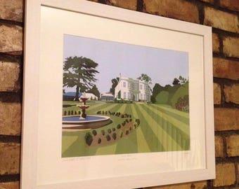 Bespoke Wedding Gift Venue Illustrations