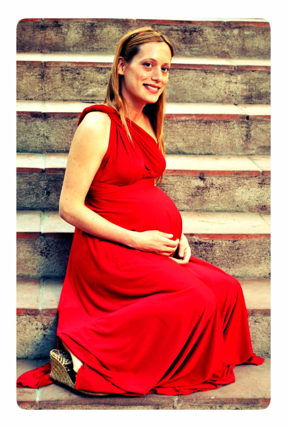 Maternity photo prop maternity dress red dress photo prop description maternity photo prop maternity dress red ombrellifo Images