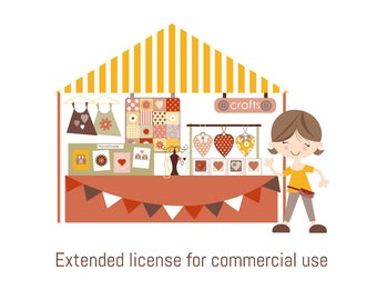 Extended license (commercial use of our patterns)