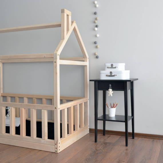 Marco de la cama de casa cama del niño Montessori cuna cuna
