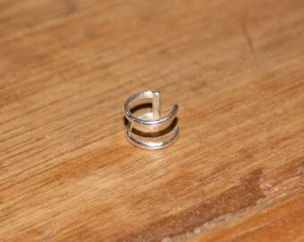 Double Ear Cuff - Sterling Silver