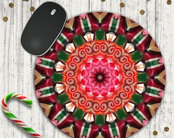 Christmas Gift Idea - Old Fashioned Candy - Christmas Gift - Christmas Mouse Pad