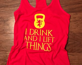 I Drink and I Lift Things