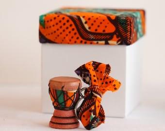 Handmade African Drum Keyrings
