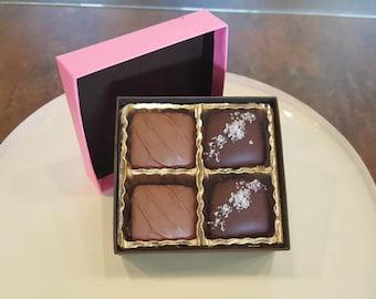 4pc Caramel Gift Box