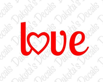 Love SVG/DXF/PNG for Download