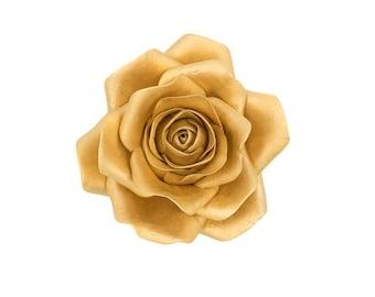 Metallic Gold Rose