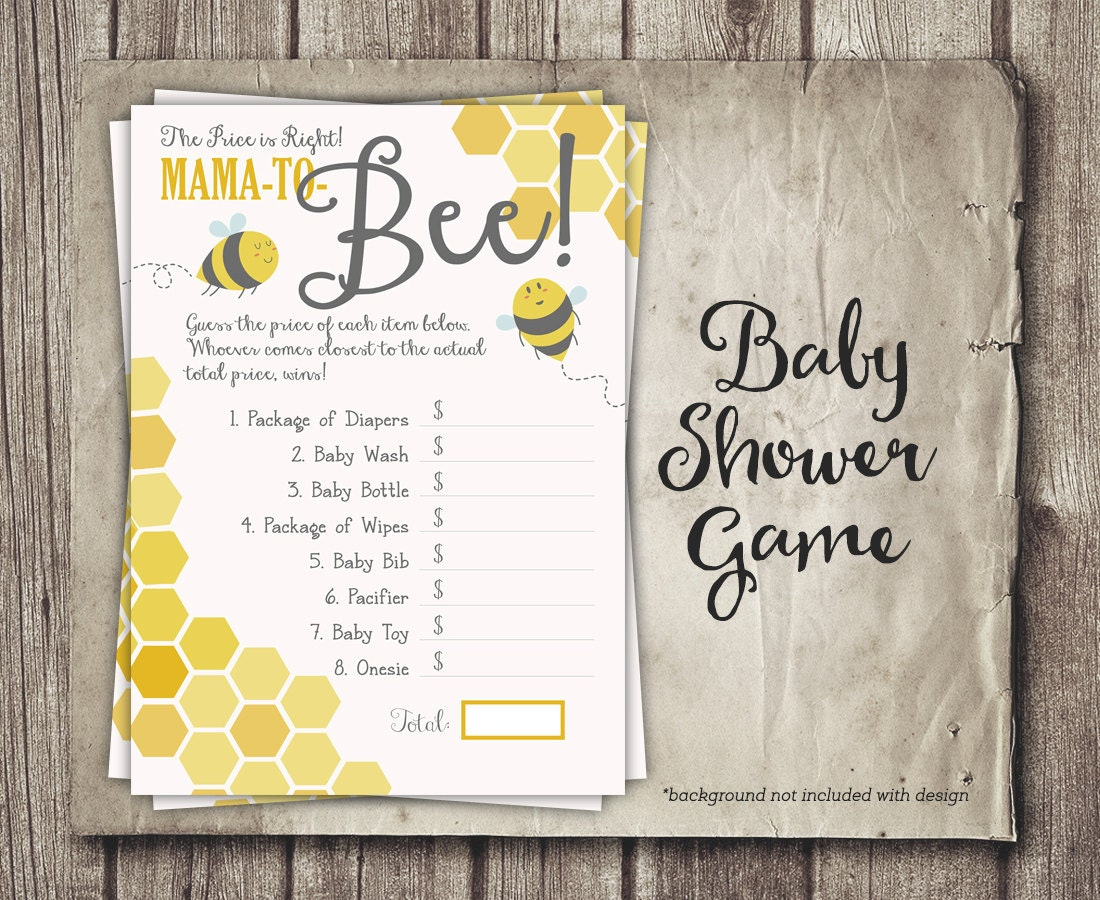 Honey Bee Baby Shower Gallery Showers Decoration Ideas Game Price Is Right