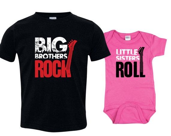 Big Brother Little Sister Set Big Brother Shirt Little