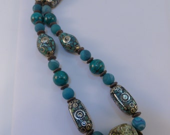 Chalk Turquoise Necklace - 20% off
