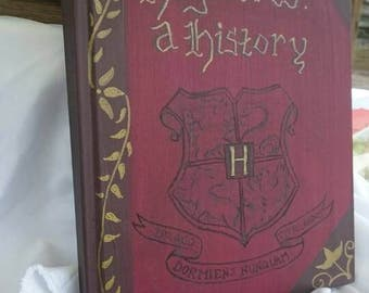 A4 blank book - Hogwarts: A History