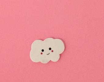 Kawaii Cloud Pin [brooch lapel pin]