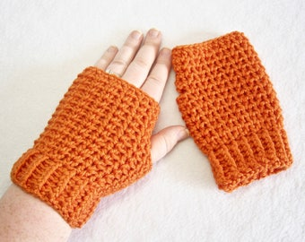 Fingerless Gloves, Crochet Gloves, Winter Gloves, Winter Mittens, Women's Gloves, Wrist Warmers, Arm Warmers, Crochet Wristlets