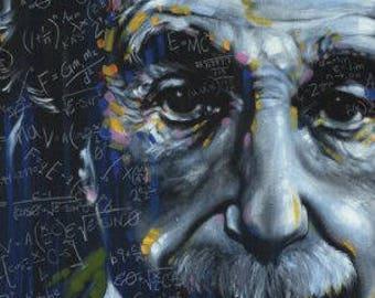 """Albert Einstein - It's All Relative - 24x36"""" Poster"""