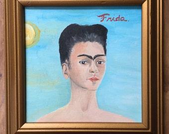 Frida Khalo Oil painting