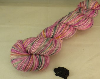 Weather Map Hand Dyed Sock Yarn