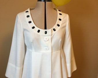 Lady's Semi-fitted Unlined Spring Jacket