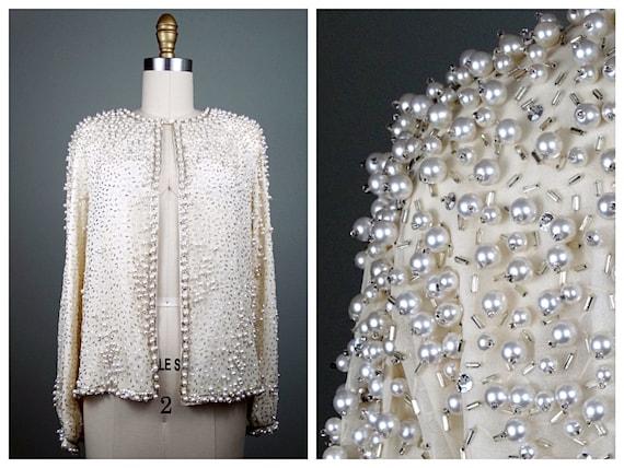 White Vintage Evening Jackets