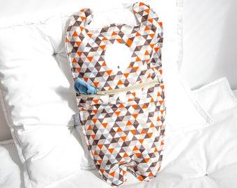 Pajama bag Monster Cycl Orange