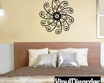 Snowflakes Vinyl Wall Decal Or Car Sticker - Mv035ET